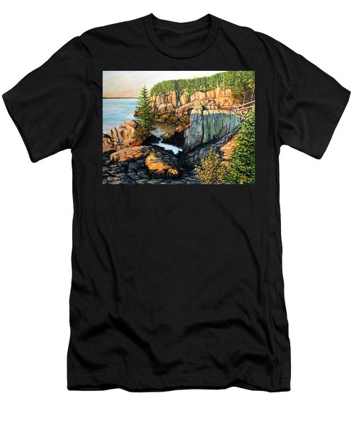 The Light Dawns On West Quoddy Head Men's T-Shirt (Athletic Fit)