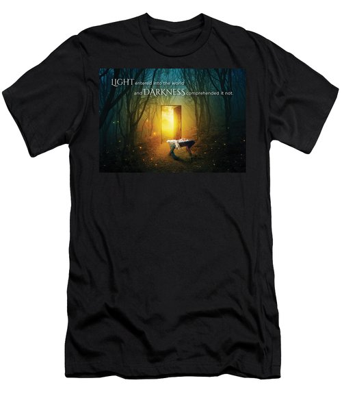 The Light Of Life Men's T-Shirt (Athletic Fit)