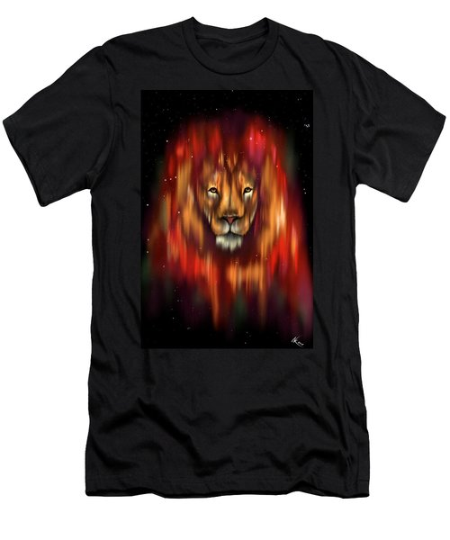 The Lion, The Bull And The Hunter Men's T-Shirt (Athletic Fit)