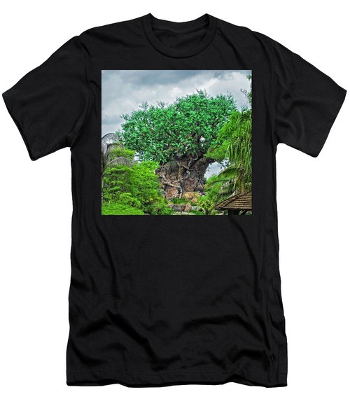 The Living Tree Walt Disney World Mp Men's T-Shirt (Athletic Fit)