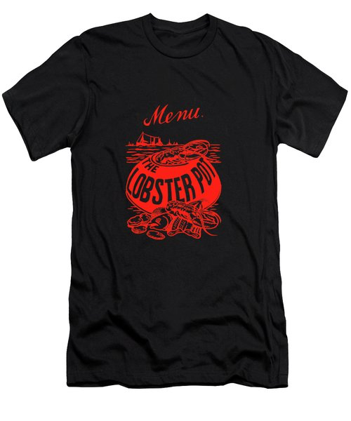 The Lobster Pot 1960s Men's T-Shirt (Athletic Fit)