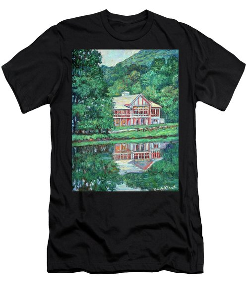 The Lodge At Peaks Of Otter Men's T-Shirt (Athletic Fit)