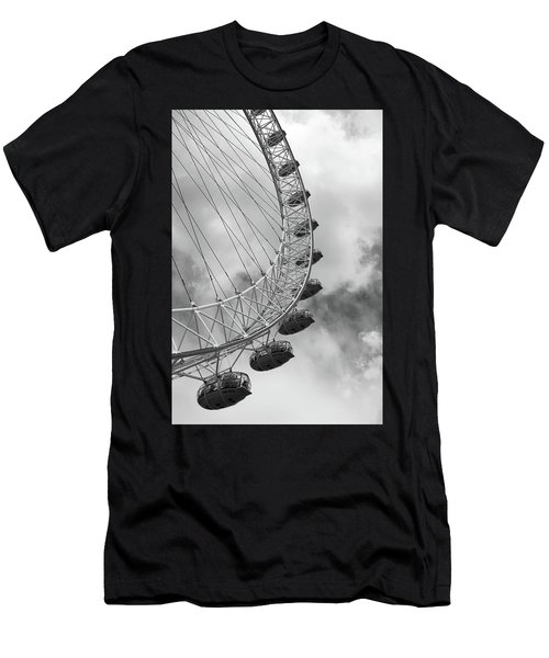 The London Eye, London, England Men's T-Shirt (Athletic Fit)