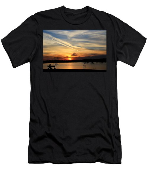 The Lonely Sunset Men's T-Shirt (Athletic Fit)