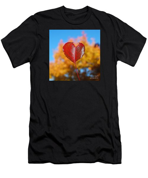 The Love Of Fall Men's T-Shirt (Athletic Fit)