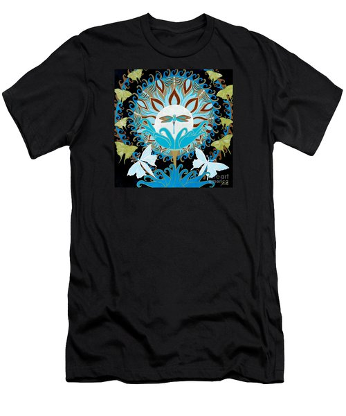 The Luna Moth Journey Of Faith And Love Men's T-Shirt (Athletic Fit)