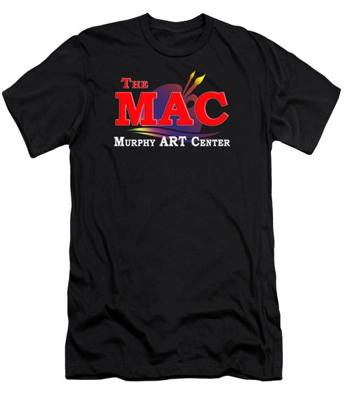 Men's T-Shirt (Slim Fit) featuring the photograph The Mac by Debra and Dave Vanderlaan