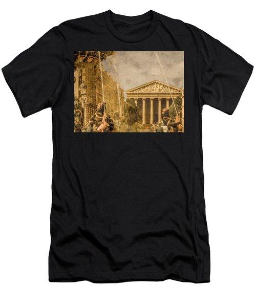 Paris, France - The Madeleine Men's T-Shirt (Athletic Fit)