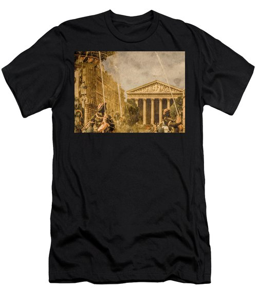 Paris, France - The Madeleine Men's T-Shirt (Athletic Fit)