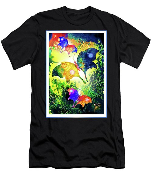 The Magic Of Butterflies Men's T-Shirt (Athletic Fit)
