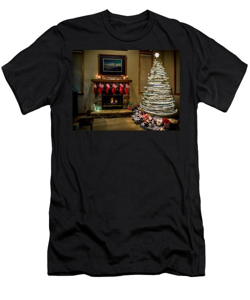 The Magic Of Christmas Men's T-Shirt (Athletic Fit)