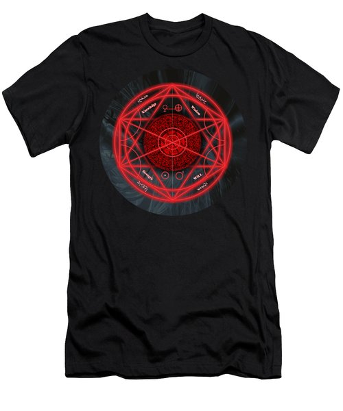 The Magick Circle Men's T-Shirt (Athletic Fit)