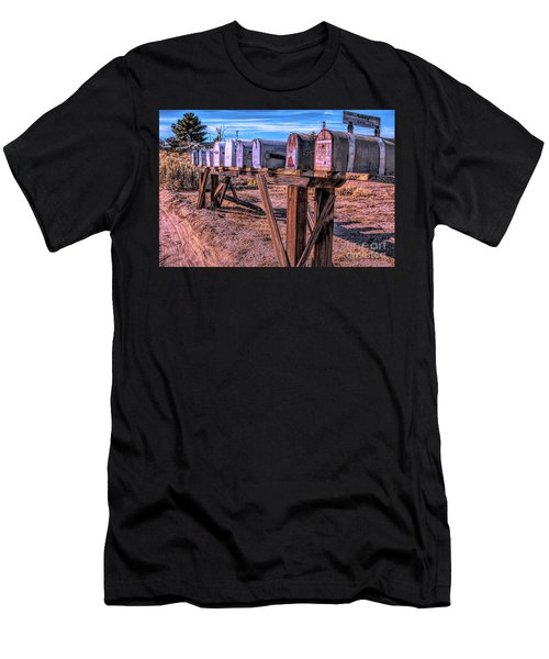 The Mailboxes Men's T-Shirt (Athletic Fit)