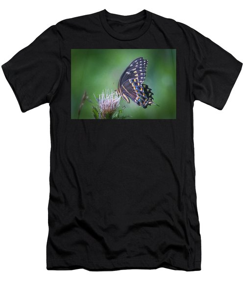 The Mattamuskeet Butterfly Men's T-Shirt (Athletic Fit)