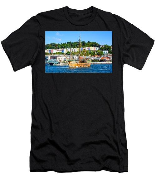 The Matthew In Bristol Harbour Men's T-Shirt (Athletic Fit)