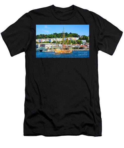 The Matthew In Bristol Harbour Men's T-Shirt (Athletic Fit)