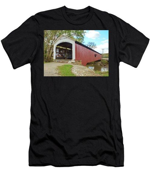 The Mecca Covered Bridge Men's T-Shirt (Athletic Fit)