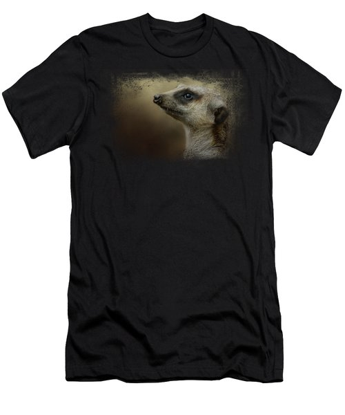 The Meerkat Men's T-Shirt (Slim Fit) by Jai Johnson