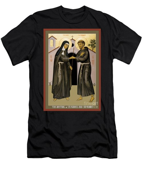 The Meeting Of Sts. Francis And Clare - Rlfac Men's T-Shirt (Athletic Fit)