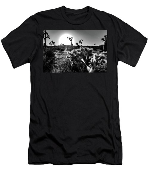 Merciless, Black And White Men's T-Shirt (Athletic Fit)