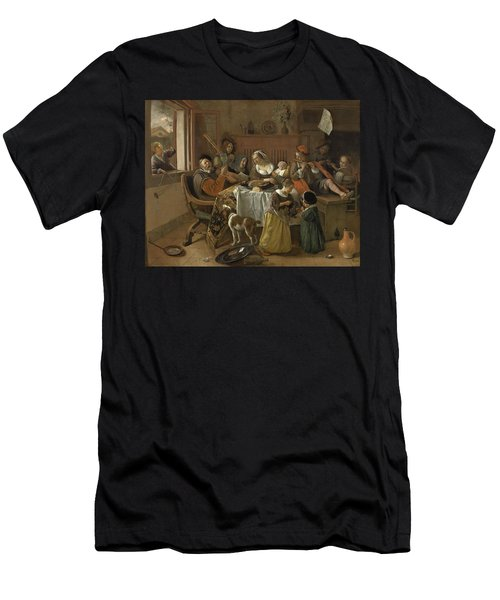 The Merry Family,1668 Men's T-Shirt (Athletic Fit)