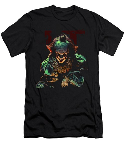 the Mighty Clown Men's T-Shirt (Athletic Fit)