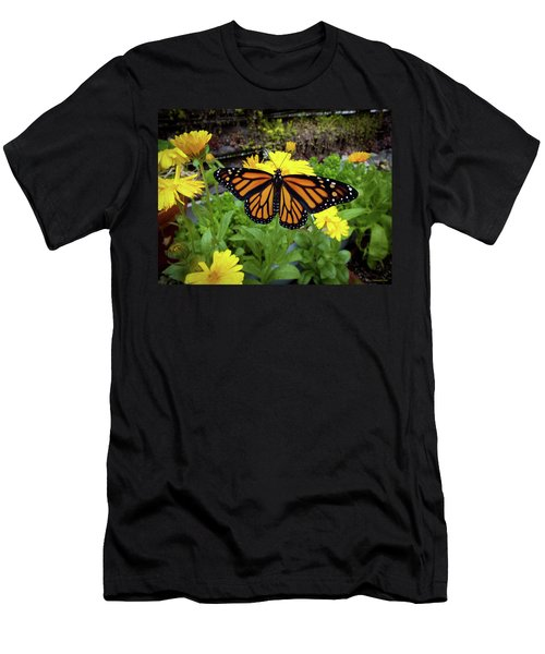 The Mighty Monarch  Men's T-Shirt (Athletic Fit)