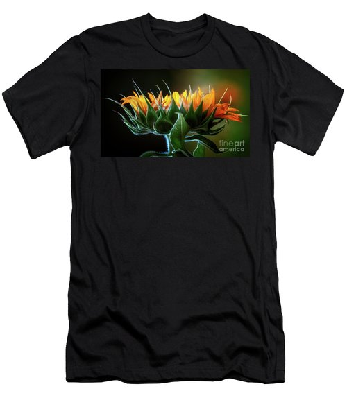 The Mighty Sunflower Men's T-Shirt (Athletic Fit)