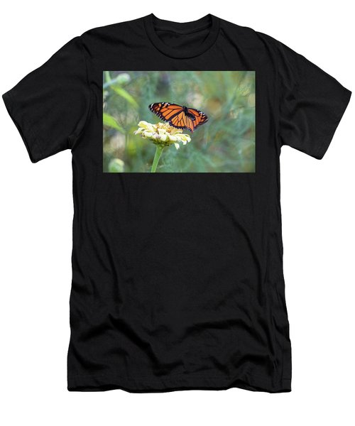Men's T-Shirt (Athletic Fit) featuring the photograph The Monarch Has Arrived by Brian Hale