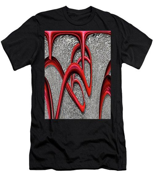 The Monday Lipstick Caper Men's T-Shirt (Athletic Fit)