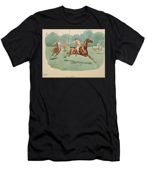 The Month Of June  Polo Men's T-Shirt (Athletic Fit)