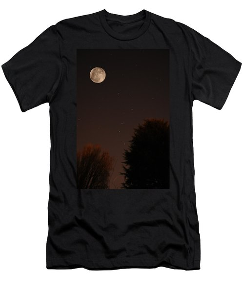 The Moon And Ursa Major Men's T-Shirt (Athletic Fit)