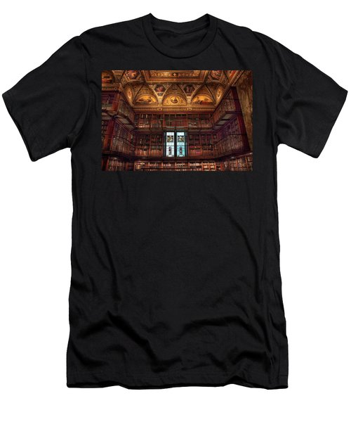 The Morgan Library Window Men's T-Shirt (Athletic Fit)