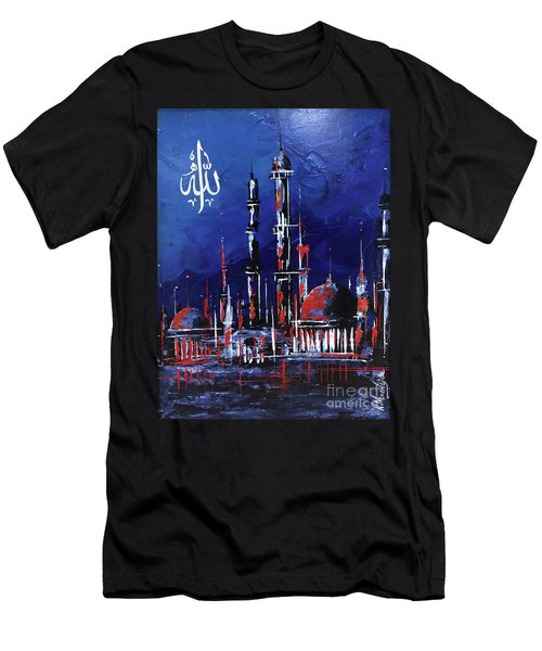 The Mosque-4 Men's T-Shirt (Athletic Fit)