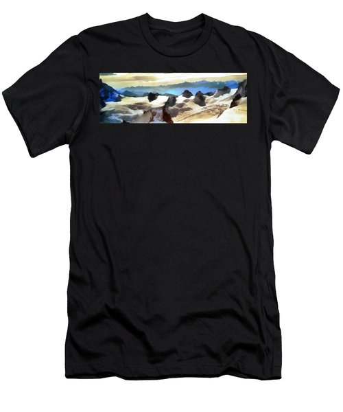 The Mountain Paint Men's T-Shirt (Athletic Fit)