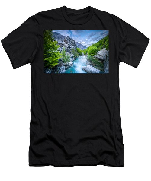 The Mountain Spring Men's T-Shirt (Athletic Fit)