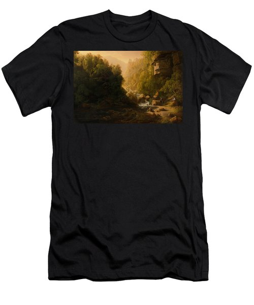The Mountain Torrent Men's T-Shirt (Athletic Fit)