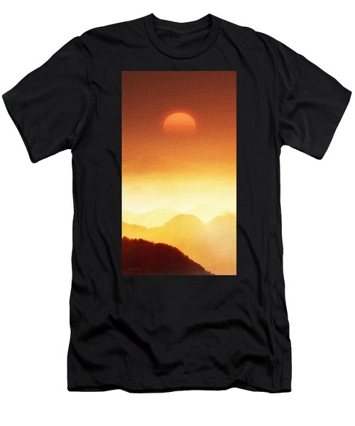 The Mountains  Men's T-Shirt (Athletic Fit)