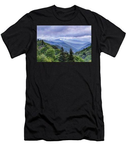 The Mountains Of Great Smoky Mountains National Park Men's T-Shirt (Athletic Fit)