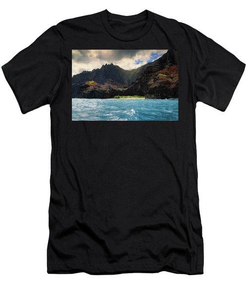 The Napali Coast Men's T-Shirt (Athletic Fit)