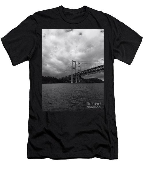 The Narrows Bridge Men's T-Shirt (Athletic Fit)