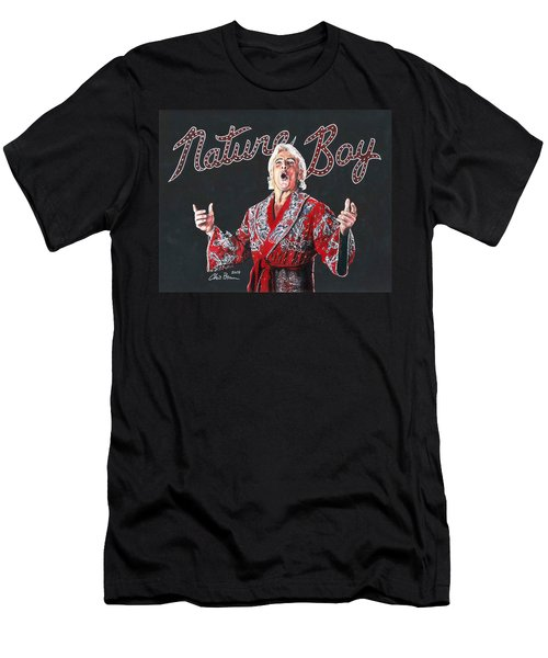 The Nature Boy, Ric Flair Men's T-Shirt (Athletic Fit)