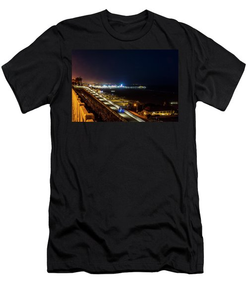 The New California Incline - Night Men's T-Shirt (Athletic Fit)