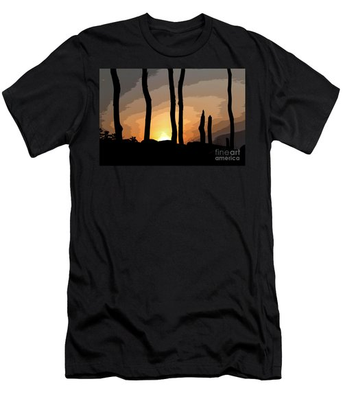 Men's T-Shirt (Slim Fit) featuring the photograph The New Dawn by Tom Cameron