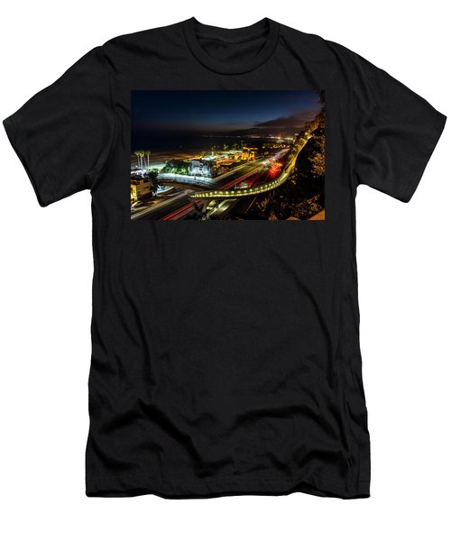 The New P C H Overpass - Night Men's T-Shirt (Athletic Fit)