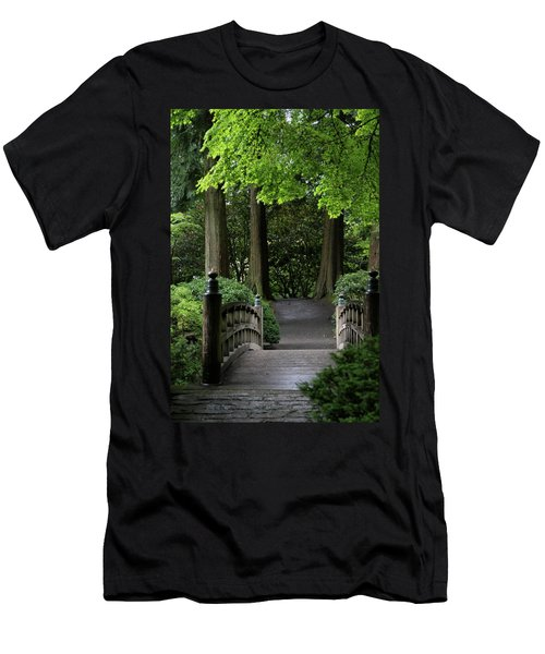 Men's T-Shirt (Athletic Fit) featuring the photograph The Next Step by Brandy Little