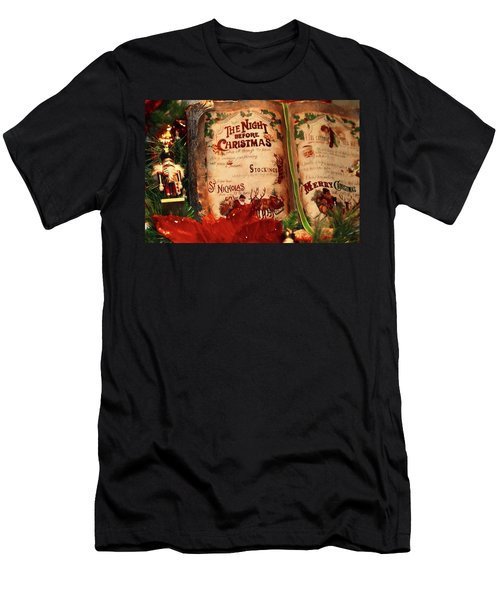 The Night Before Christmas Men's T-Shirt (Athletic Fit)