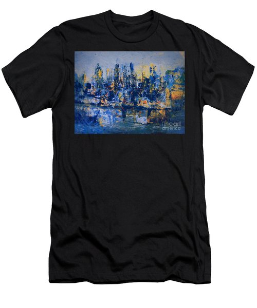 The Night City Men's T-Shirt (Athletic Fit)