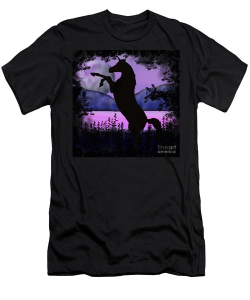 The Night Of The Unicorn Men's T-Shirt (Athletic Fit)