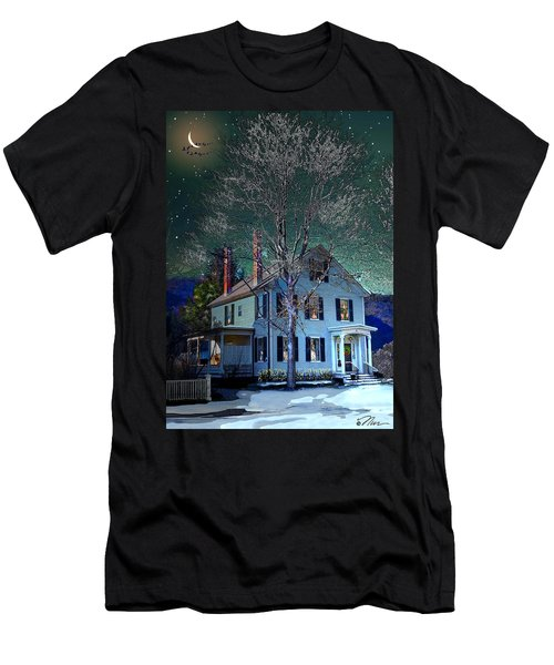 The Noble House Men's T-Shirt (Slim Fit) by Nancy Griswold